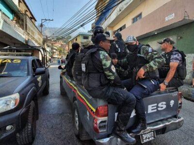 Detienen a 33 personas durante operativo en Petare
