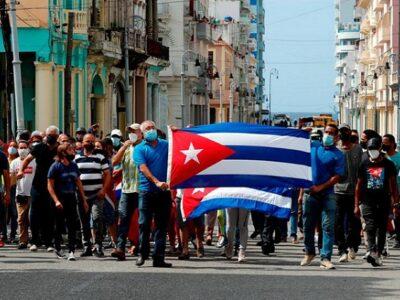 El OCDH reprochó a la ONU y UE por intentar ocultar los motivos de la protesta