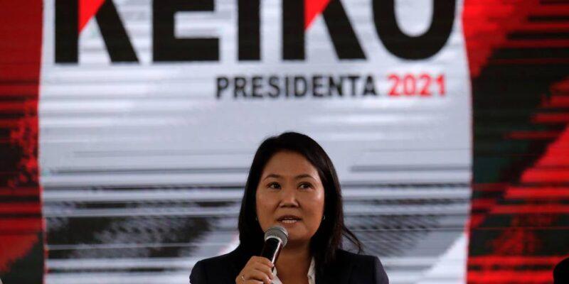 Fujimori se comprometió a reconocer los resultados presidenciales en Perú