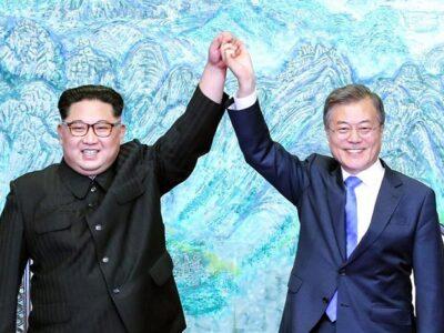 Moon y Kim intercambiaron cartas sobre una posible cumbre intercoreana
