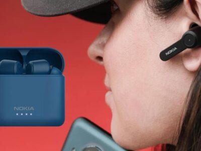 Nokia estrenó sus primeros auriculares inalámbricos