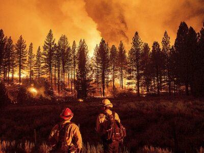 Un incendio en Oregón continúa creciendo y ocupa más territorio que la ciudad de NY
