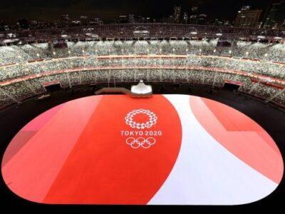 La ceremonia de los Juegos Olímpicos estuvo marcada por la pandemia