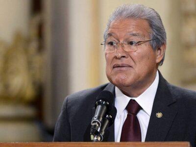 Fiscalía salvadoreña pidió la captura del expresidente Sánchez Cerén