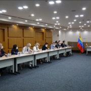 Misión de la UE se reunió con funcionarios del CNE