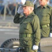 EE.UU. sancionó al ministro de las Fuerzas Armadas de Cuba