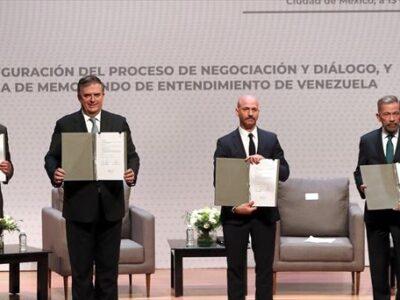 DOBLE LLAVE - España valora el nuevo diálogo entre el oficialismo y la oposición venezolana