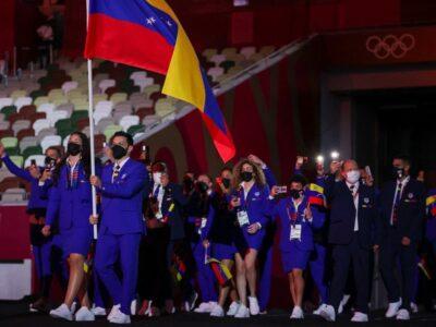 Atletas venezolanos que participaron en los JJ.OO. fueron recibidos en Miraflores