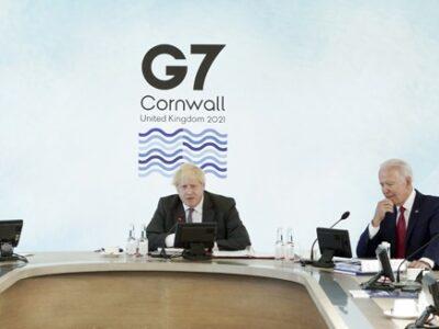 EE.UU. y Reino Unido convocan una cumbre virtual del G7