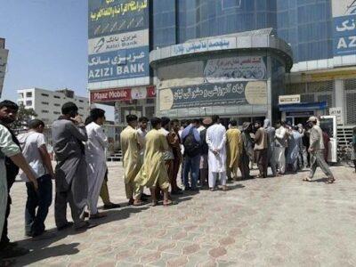 Los precios se elevan en Kabul, mientras los bancos cumplen su primera semana cerrados