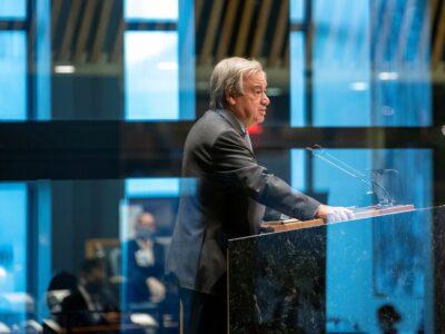 """ONU aseguró que la emergencia climática es una carrera que """"se está perdiendo"""""""