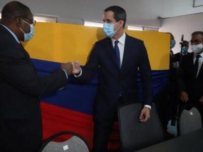 Guaidó se reunió con la Unión Interparlamentaria