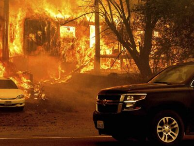 Más de 170.000 hectáreas fueron consumidas por el fuego en la localidad de Greenville