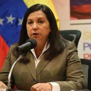 Carmen Meléndez será la candidata del PSUV para Caracas