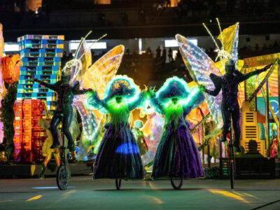 Con emotiva ceremonia concluyen los Juegos Paralímpicos de Tokio