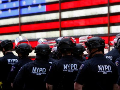 DOBLE LLAVE - Despliegan miles de agentes por el vigésimo aniversario del 11 de septiembre