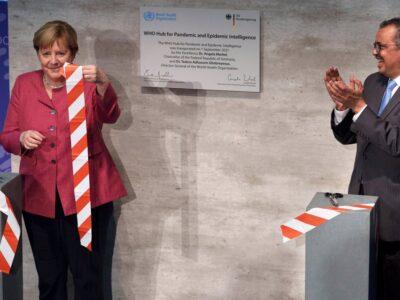 OMS inauguró centro de inteligencia sobre pandemias en Berlín
