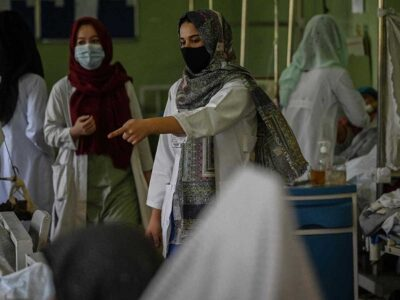 ONU destina fondo de emergencia para sistema sanitario de Afganistán