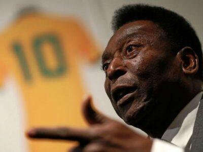 DOBLE LLAVE - Pelé se recupera bien tras ser operado de un tumor en el colon