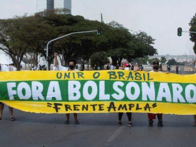 Protestas pidieron destitución de Bolsonaro tras su amenaza a instituciones