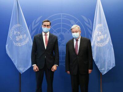 ONU respaldó las negociaciones venezolanas en México