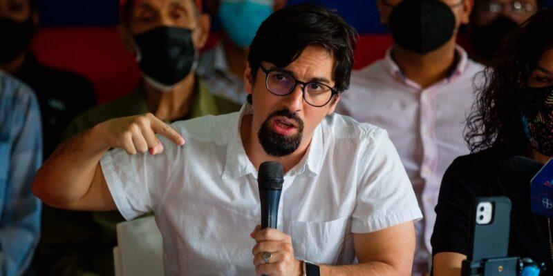 Freddy Guevara sustituirá a Vecchio en las negociaciones en México