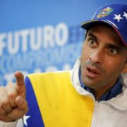 Capriles pidió unificar el voto opositor