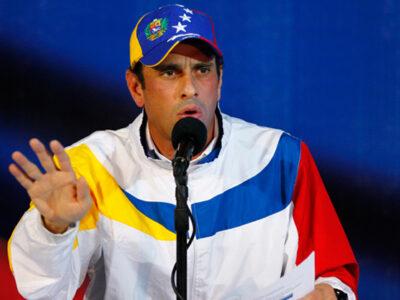 Capriles pidió a los venezolanos organizarse para el 21N