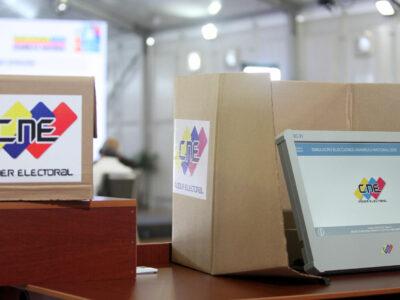 DOBLE LLAVE - CNE convocó a participar en un simulacro electoral el próximo 10 de octubre