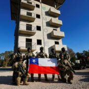 Chile realiza prácticas militares con España y EE.UU.