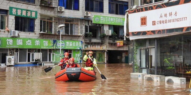 Un millón de afectados y 120.000 evacuados por lluvias en China