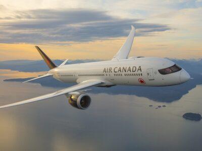 Air Canada reanuda y amplía sus vuelos en Suramérica