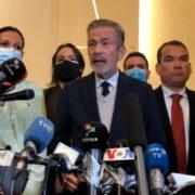 Gerardo Blyde declaró luego de que la delegación de Maduro se apartase de las negociaciones en México tras hacerse oficial la extradición de Alex Saab